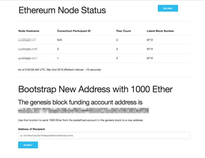 Blockchain Admin